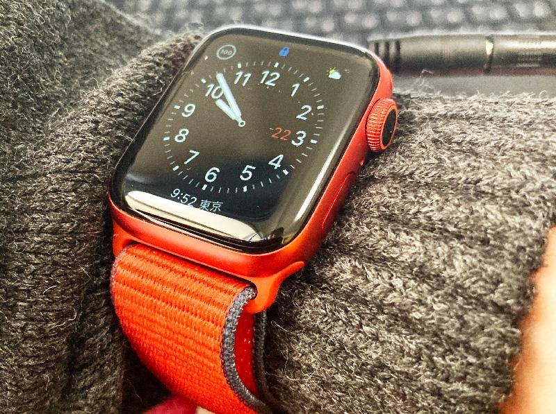 USBあったか手袋と時計